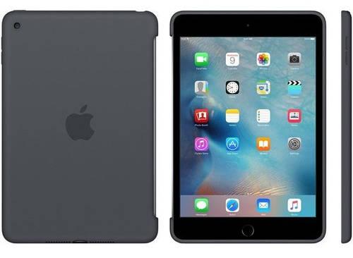 """Оригинальный чехол силиконовый Apple iPad mini 4, 7.9"""" (Charcoal Gray) MKLK2ZM/A"""