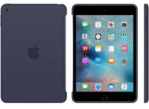 "Чехол силиконовый Apple iPad mini 4, 7.9"" (Midnight Blue) MKLM2ZM/A синий"