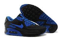 Кроссовки мужские Nike Air Max 90 GL (найк аир макс, оригинал) черно-синие