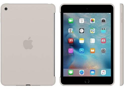 Чехол силиконовый Apple iPad mini 4 с дисплеем 7,85 дюйма (Stone) MKLP2ZM/A