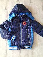 Куртка жилетка для мальчика весна-осень