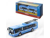 Коллекционная модель Троллейбус металлический масштаб 1:72 автопарк 6407