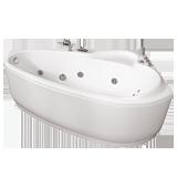 """Ванна акриловая Тритон """"Пеарл-Шелл"""" (Лев.Прав.)1600х1040х605"""