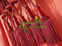 Декоративные кисти для штор, Бордовый (пара)