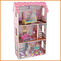 Дом для кукол KidKraft Penelope Пенелопа кукольный дом с мебелью 65179