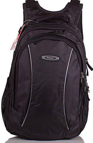 Мужской качественный рюкзак 25 л. Onepolar (Ванполар) W1371-black