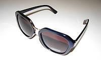 Солнцезащитные очки OMEGA синие. С золотой переносицей, стильные.