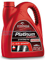 Масло моторное Platinum Classic Diesel Synthetic 5W-40  4.5L