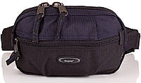 Мужская удобная поясная сумка ONEPOLAR (ВАНПОЛАР) W3001-navy
