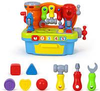 Развивающая игрушка-сортер Huile Toys Столик с инструментами 907