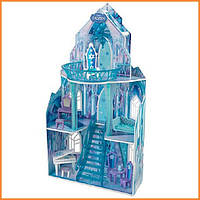 Дом для кукол KidKraft Frozen Ice Castle Ледяной замок с мебелью 65881