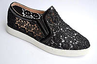 Мокасины туфли женские модные р. 40