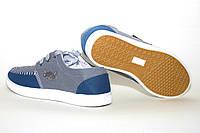 Мокасины на шнурках. Летние мужские туфли светлые JONG GOLF