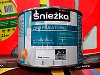 Краска для радиаторов акриловая Sniezka 0,4л