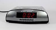 Электронные часы KK 9905 настольные часы с радио FM