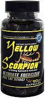 Жиросжигатель с геранью желтый скорпион Yellow Scorpion ECA+DMAA 20 ct