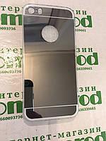Силиконовый чехол зеркальный на IPhone 5 \ 5s