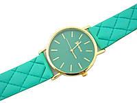 """Часы женские кварцевые наручные """"A la Chanel"""", мятный"""