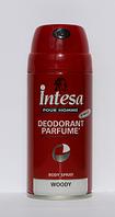 INTESA Дезодорант спрей парфюмированный ДРЕВЕСНЫЙ для мужчин 150 мл