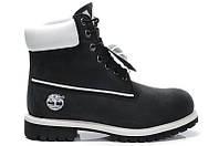 Мужские ботинки Classic Timberland 6 inch Black (Тимберленд) черные