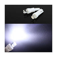 Светодиодная лампа  t5 w1,2w w2x2,6d 12v 1led