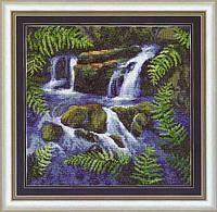 Набор для вышивания нитками Водопад 406