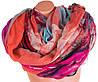 Оригинальный разноцветный женский шарф из натуральной ткани 185 на 88 см. ETERNO (ЭТЕРНО) P-P-28