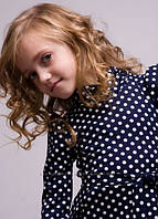 Красивое платье для девочки трикотажное размеры 110, 140