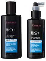 Набор для волос №08 Уход за жирной кожей головы (ВІО+ Oil Control), 200+150 мл