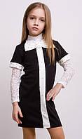 Стильное платье для девочки БАНТ размер 134