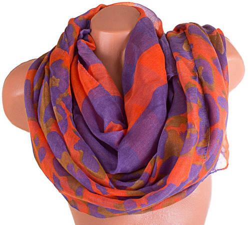 Женский элегантный шарф из натуральной ткани 180 на 87,5 см. ETERNO (ЭТЕРНО) P-P-23