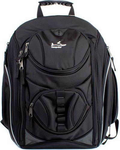 Мужской практичный рюкзак c отделением для ноутбука 28 л. Onepolar W1327-black черный