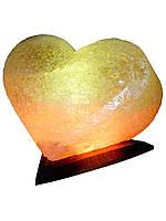 """Соляной светильник """"Сердце"""" 4-5кг размеры: h19см*18см*18см Провод с регулятором, индивидуальная упаковка"""