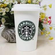 Стакан StarBucks HY101, чашка керамическая кружка Starbucks, термокружка старбакс, кружка
