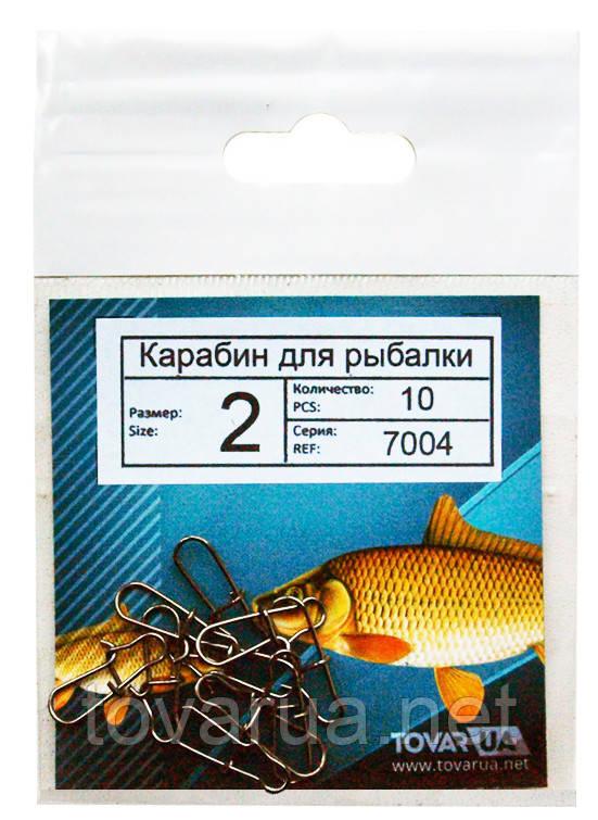 Карабинчик для рыбалки