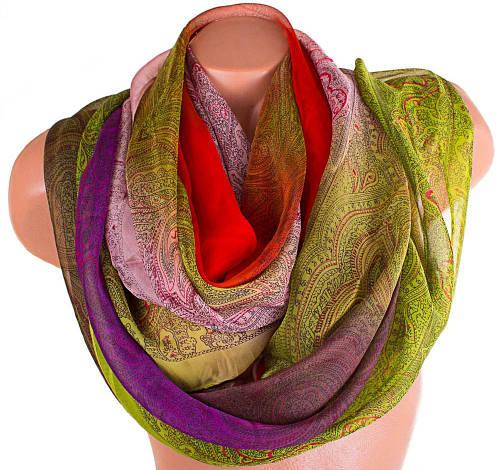 Стильный женский шарф из натуральной ткани 182 на 105 см. ETERNO (ЭТЕРНО) P-P-38