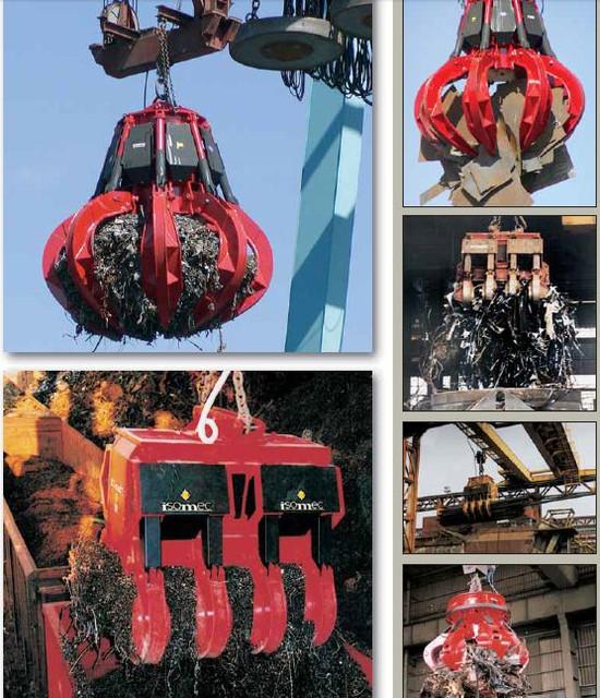 Навесное оборудование (грейферы, гидроножницы, захваты)