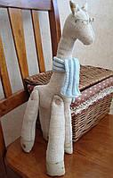 """Элемент декора, текстильная игрушка """"Жирафик"""""""
