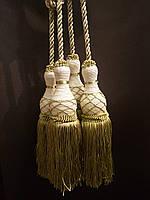 Декоративные кисти для штор, Оливковый (пара)