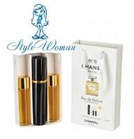 Набор мини парфюмерии Chanel № 5 Шанель № 5 с феромонами3*15мл