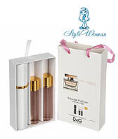 Набор мини парфюмерии Dolce&Gabbana Rose The One Дольче Габбана Роуз Зе Ван с феромонами3*15мл
