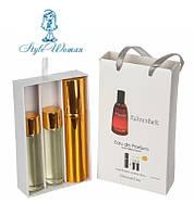 Набор мужской мини парфюмерии Dior Fahrenheit Диор Фаренгейт с феромонами3*15мл
