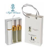 Набор мужской мини парфюмерии Dior Homme Sport Диор Хом Спорт с феромонами3*15мл