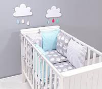 Набор детской постели с модульной охранкой №1
