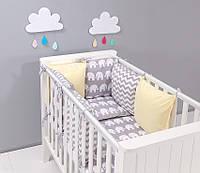 Набор детской постели с модульной охранкой №3