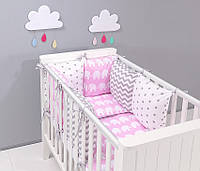 Набор детской постели с модульной охранкой №5