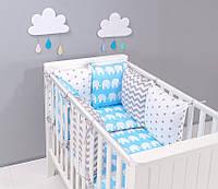 Набор детской постели с модульной охранкой №6