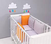 Набор детской постели с модульной охранкой №10