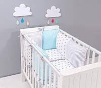 Набор детской постели с модульной охранкой №12