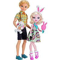Набор Карнавальное свидание - Алистер Вандерленд и Банни Бланк (Ever After High Carnival Date Doll 2-Pack)